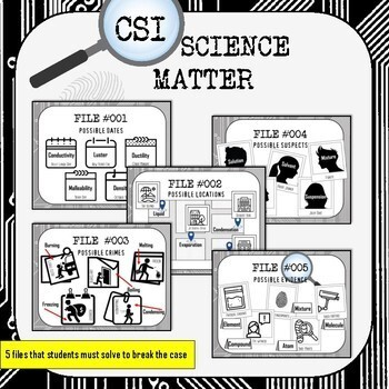 Matter CSI Science