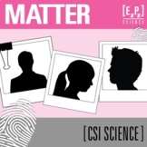Matter CSI Science Mystery- Distance Learning