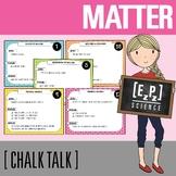 Matter Science Task Cards - Chalk Talk Art in Science