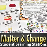 Matter & Change Student Blended Learning Stations
