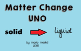 Changes to States of Matter - Uno-like Card Game