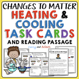 Physical and Chemical Changes to Matter Task Cards