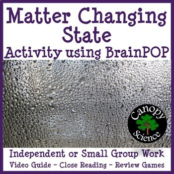 Matter Changing States Brain Pop (Phase Changes)