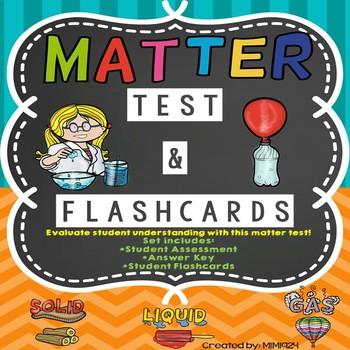 Matter Chapter Test & Flashcards