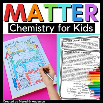 Matter - Chemistry Activities