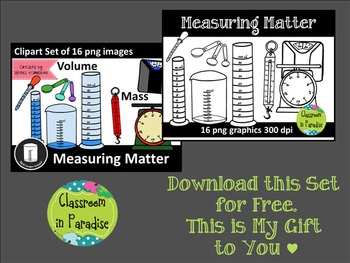 Matter Clipart Bundle