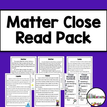 Matter Close Reads