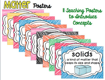 Matter Comprehension and Response Pack