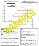 Matter Crossword Puzzle