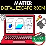 Matter Digital Escape Room, Matter Breakout Room, Test Prep, Distance Learning