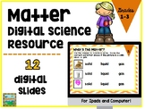 Matter Digital Interactive Activities for Ipad and Google Drive