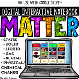 Matter - Digital Interactive Notebook