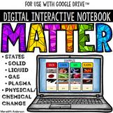 Matter - Digital Interactive Notebook