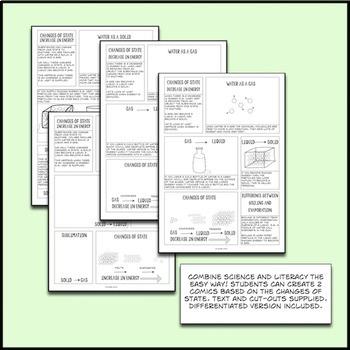 Matter, Elements Compounds Mixtures Interactive Notebook