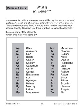 Matter: Elements, Molecules, and Compounds