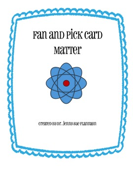 Matter Fan and Pick Review Game