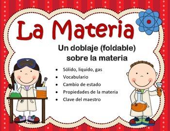 La Materia Pleglable/ Matter Foldable in Spanish