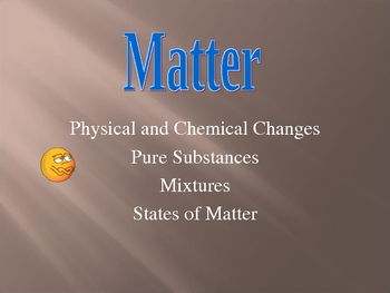 Matter (Global Overviewing)