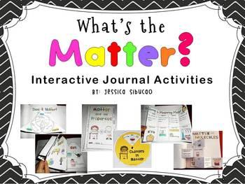 Matter (Interactive Journal Activities)