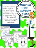 Matter Interactive Journal--Solids, Liquids, and Gases