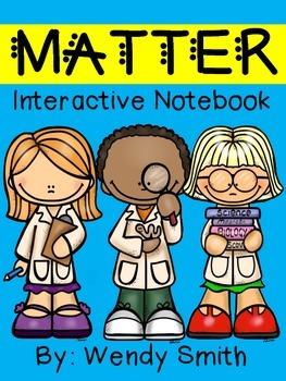 Matter Interactive Notebook-Essential Standard 3.P.2