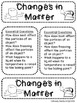 Matter Interactive Notebook-Essential Standard 3.P.2