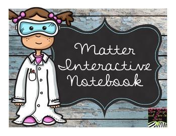 Matter Interactive Notebook  NO Teacher Prep!