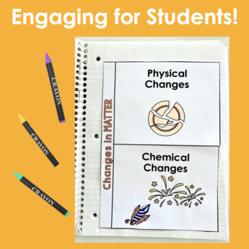 Matter- Interactive Notebook Pages