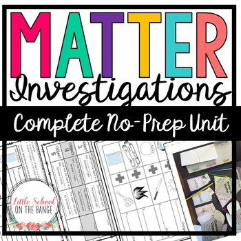 Matter No-Prep Unit