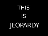 Matter Jeopardy game