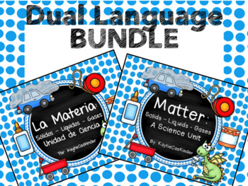 Matter / La Materia : Dual Language Bundle