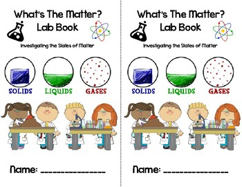 Matter Experiment Book-Solids, Liquids and Gases-Physical and Chemical Changes