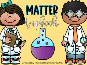 Matter Lap Book in Spanish