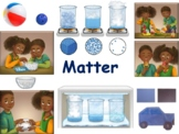 Matter Lesson & Flashcards - task cards, study guide, 2017