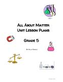 Matter Unit Lesson Plans TEKS based Science prep for STAAR