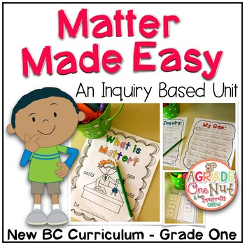 Matter Made Easy {Inquiry Based Unit}