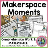 Matter Makerspace STEM Moment {Using A Trade Book}