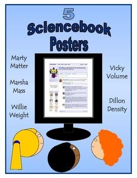 Matter, Mass, Weight, Volume, Density Posters