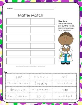 Matter Match - Cut, Match, and Paste