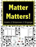 Matter Matters - ASSESSMENT & DIAGNOSTIC - Sorting // Cut