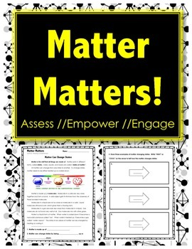 Matter Matters - MATTER CAN CHANGE STATES - Science // Reading