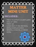 Matter: Mini Unit