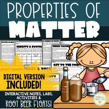 Matter Mini-Unit for Upper Grades