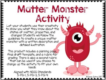 Matter Monster Activity