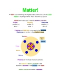 Matter Notes - Color Coded
