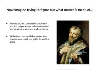 Matter:  Particles of Matter