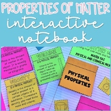 Physical Properties of Matter Interactive Notebook Activities