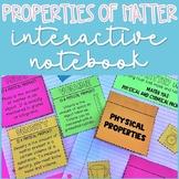 Properties of Matter Interactive Notebook Activities Notes