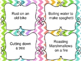 Matter Physical and Chemical Change Task Cards
