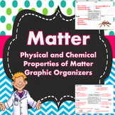Matter: Physical and Chemical Properties Graphic Organizer